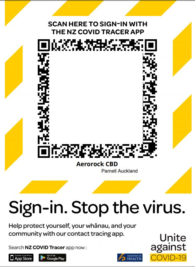 Covid 19 Coronavirus Businesses Here S How To Print A Qr Poster For The Govt S New Tracing App Nz Herald